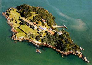 Ilha de Santa Cruz de Anhatomirim - Santa Catarina